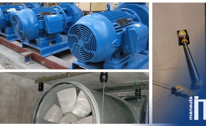 Colgantes y soportes: altamente eficaces para equipos industriales